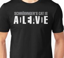 Schrödinger's Cat - Dark Unisex T-Shirt