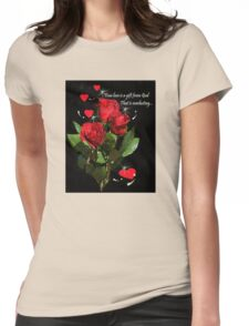 True Love... Womens Fitted T-Shirt