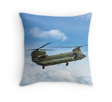 Boeing Chinook HC2 Throw Pillow