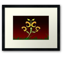 2009 will flutter by... Framed Print