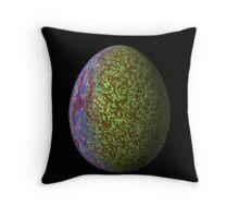 Psychadelic Easter Egg 2 Throw Pillow