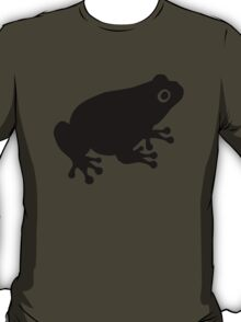 Black toad frog T-Shirt