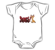 Baby Stags One Piece - Short Sleeve