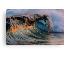 Perfect Wave 2 Canvas Print