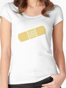 Band-aid Women's Fitted Scoop T-Shirt