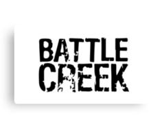 Battle Creek Canvas Print