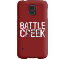 Battle Creek - White Samsung Galaxy Case/Skin