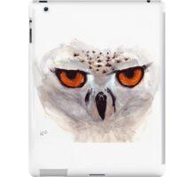 White Owl iPad Case/Skin