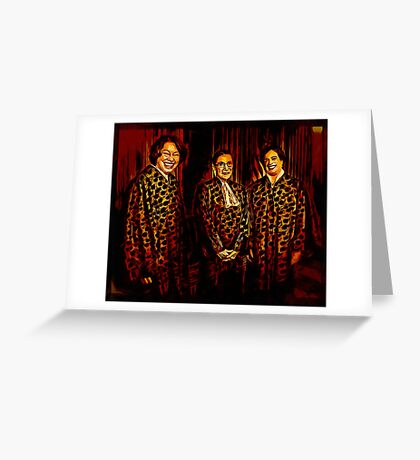 The Supremes Greeting Card