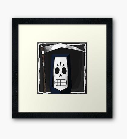 Manny Calavera Framed Print