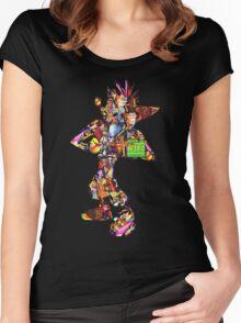 Crash Bandicoot  Women's Fitted Scoop T-Shirt