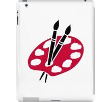 Color palette brushes iPad Case/Skin