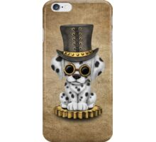 Cute Steampunk Dalmatian Puppy Dog iPhone Case/Skin
