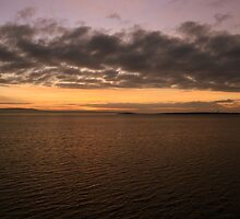 Shannon River sunset by John Quinn