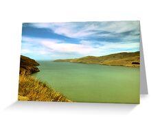 New Zealand lake Greeting Card