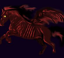 Thestral #Red by slaterkerry