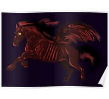 Thestral #Red Poster