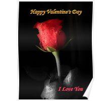 *Valentine Rose* Poster