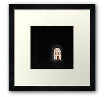 Dark Portal Framed Print
