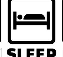 Eat sleep paint Sticker