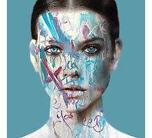 Barbie Paint Photographic Print