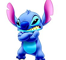 Angry Stitch by theBonk