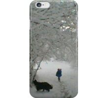 Winter Wonderland 2of6 iPhone Case/Skin