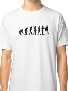 Evolution Painter Classic T-Shirt