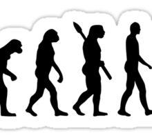 Evolution Painter Sticker