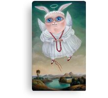 Lake of Mermaids 50 x 30 x 2.5cm. Original Painting - Sold Canvas Print