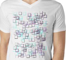 Cubism Mens V-Neck T-Shirt
