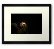 Magic Touch Framed Print