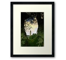 Glendalough view Framed Print