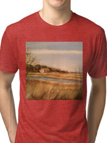 Captain Charlie's Boat House Tri-blend T-Shirt