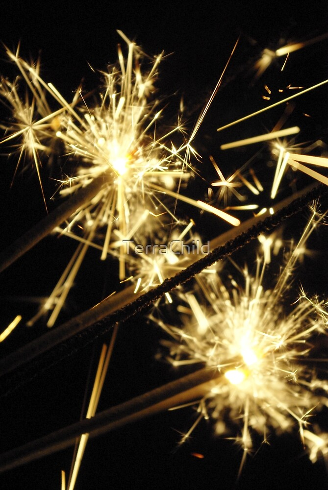 New Year Eve Sparklers by TerraChild