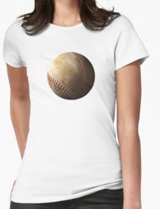 Baseball 3 Womens Fitted T-Shirt