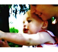 Mommy's Baby Photographic Print