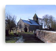St Mary's Church-Raskelf,North Yorkshire  Canvas Print