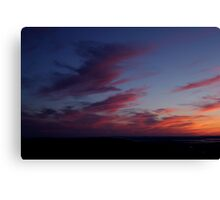 Cadillac Sunset II Canvas Print