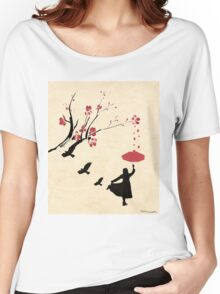 Cherry Blossom Girl Women's Relaxed Fit T-Shirt