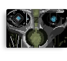 Corvo 8-Bit Canvas Print