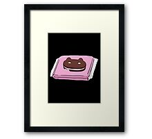 Cookie Cat Framed Print