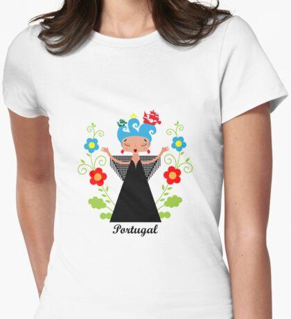 Portuguese Fado singer with ships T-Shirt