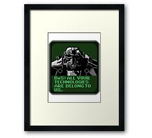 Brotherhood of Cats Framed Print