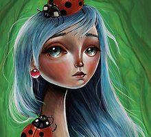 Miss Lady Bug by Kristin Frenzel