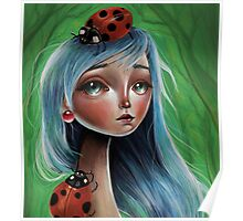 Miss Lady Bug Poster