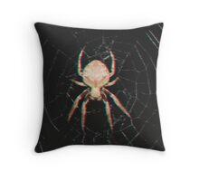 3D Spider Throw Pillow