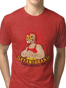 Satansbrand - Champion of Wrestling Tri-blend T-Shirt
