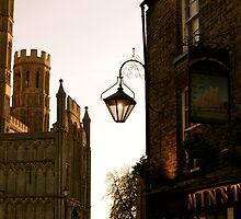 Minster Tavern Lamp by Louise Fahy