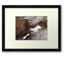 Soda Dam Framed Print